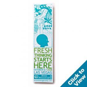 Seed Paper Bookmark - PB4 Series