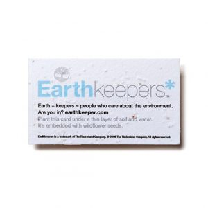 Seed Paper Business Card Psb Promos Under 1 Bloomin Promotions