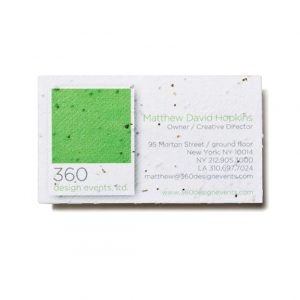 Seed paper business card psb promos under 1 bloomin promotions psb colourmoves