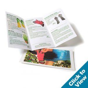 Tri-Fold Seed Paper Brochure - PSBRO
