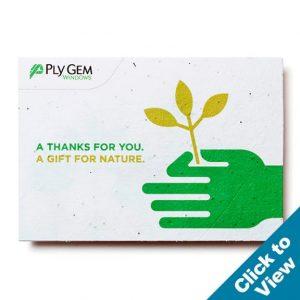 Seed Paper Card, Medium - PSC-Medium