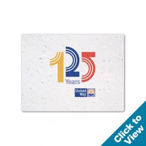 Small Seed Paper Card - PSC-Small
