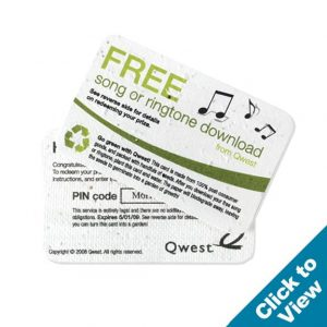 Seed Paper Credit Card - PSCC