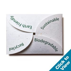 Rose-Fold Seed Paper Envelope - PSE