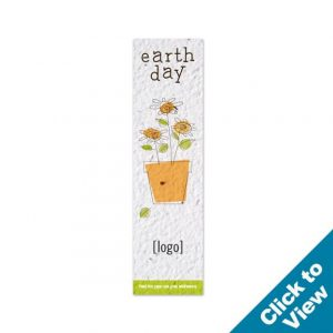 Small Seed Paper Bookmark - PB4-Small-EDEW Series
