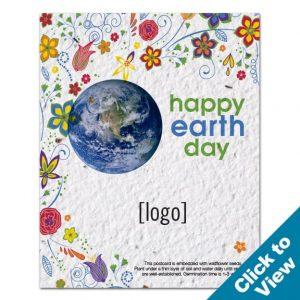 Seed Paper Postcard - PSP-EDEW