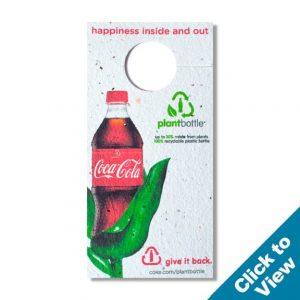 Rectangle Seed Paper Bottle Necker - PSBNR