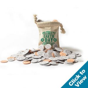 Seed Paper Coin Bags - SPCB - EDEW