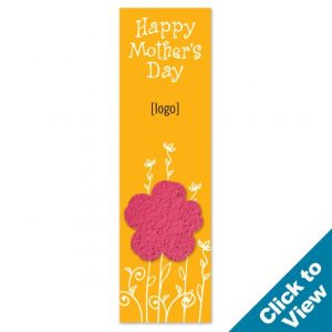 Seed Paper Shape Bookmark - PB1 - MDEW Series