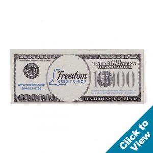 Seed Paper Dollar Bill - PSDB