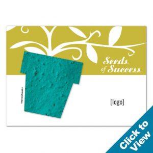 Seed Paper Shape Postcard, Large - PP-Large - EW