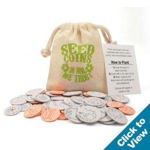 Seed Paper Coin Bags - SPCB - EW