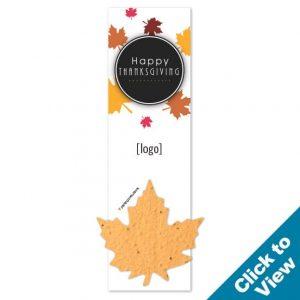 Thanksgiving Seed Paper Shape Bookmark - PB1 - TKG Series