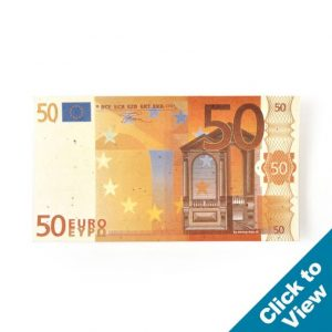 Seed Paper Euro Bill - PSEB