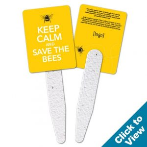 Save the Bees Garden Grow Stick Fan - GGS-STB