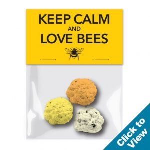 Save the Bees - Seed Bomb Cello - SBC-3 - STB