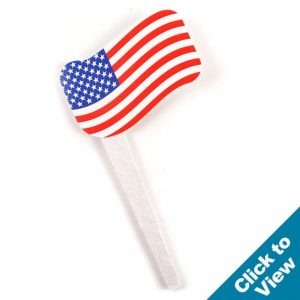 Cardstock Flag Grow Stake - GGSF-1-US