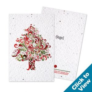 Holiday Seed Paper Postcard - PSP-HEW - Series