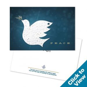 Holiday Seed Paper Postcard - PP-HEW - Series