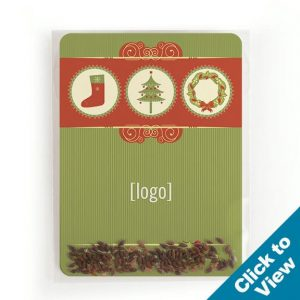 Holiday Evergreen Seed Packet - SPAC-7-HEW - Series