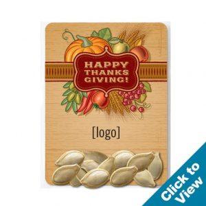 Thanksgiving Pumpkin Seed Packet - SPAC-6-TKG