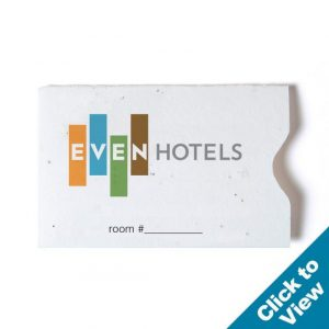 Seed Paper Gift Card Sleeve - GCS