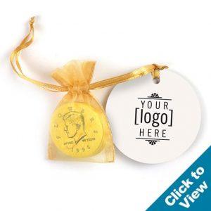 Nostalgic (Not Chocolate) Gold Half Dollar Bag - GHDB