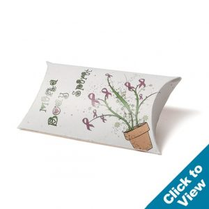 Seed Paper Pillow Box - PSBX