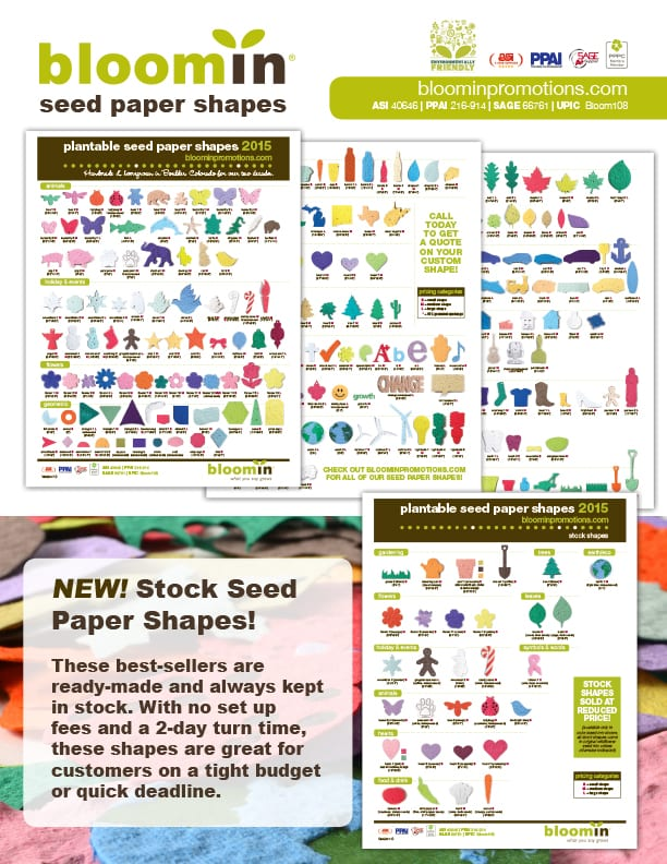 Seed Paper Shapes