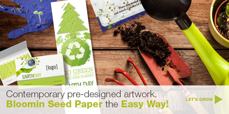bloomin seed paper promotions