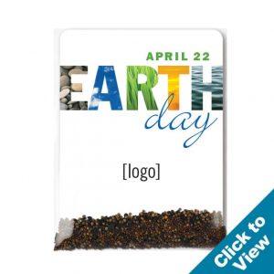 Earth Day Wildflower Seed Packet - SPAC-5-EDEW - Series