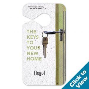 Seed Paper Door Hanger – PSMT-REEW
