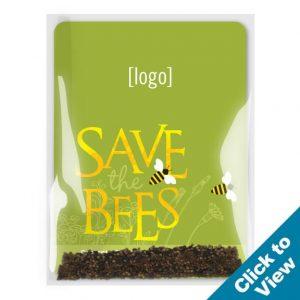 Save the Bees Wildflower Seed Packet - SPAC-14-STB - Series