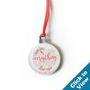 Seed Paper Ornament-Small - PSO-Small-HEW Series