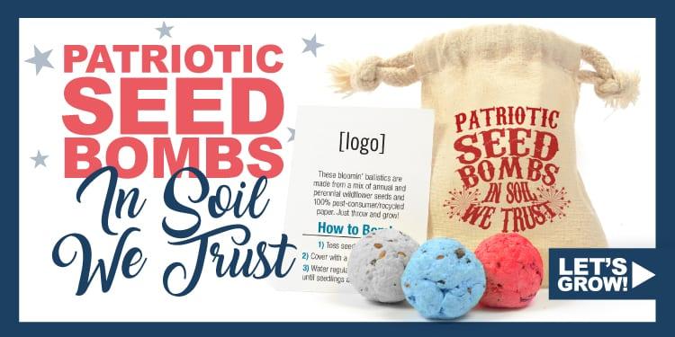 Patriotic Seed Bombs